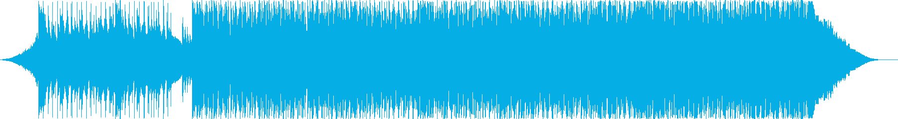 EDM with the image of a blue sky's reproduced waveform