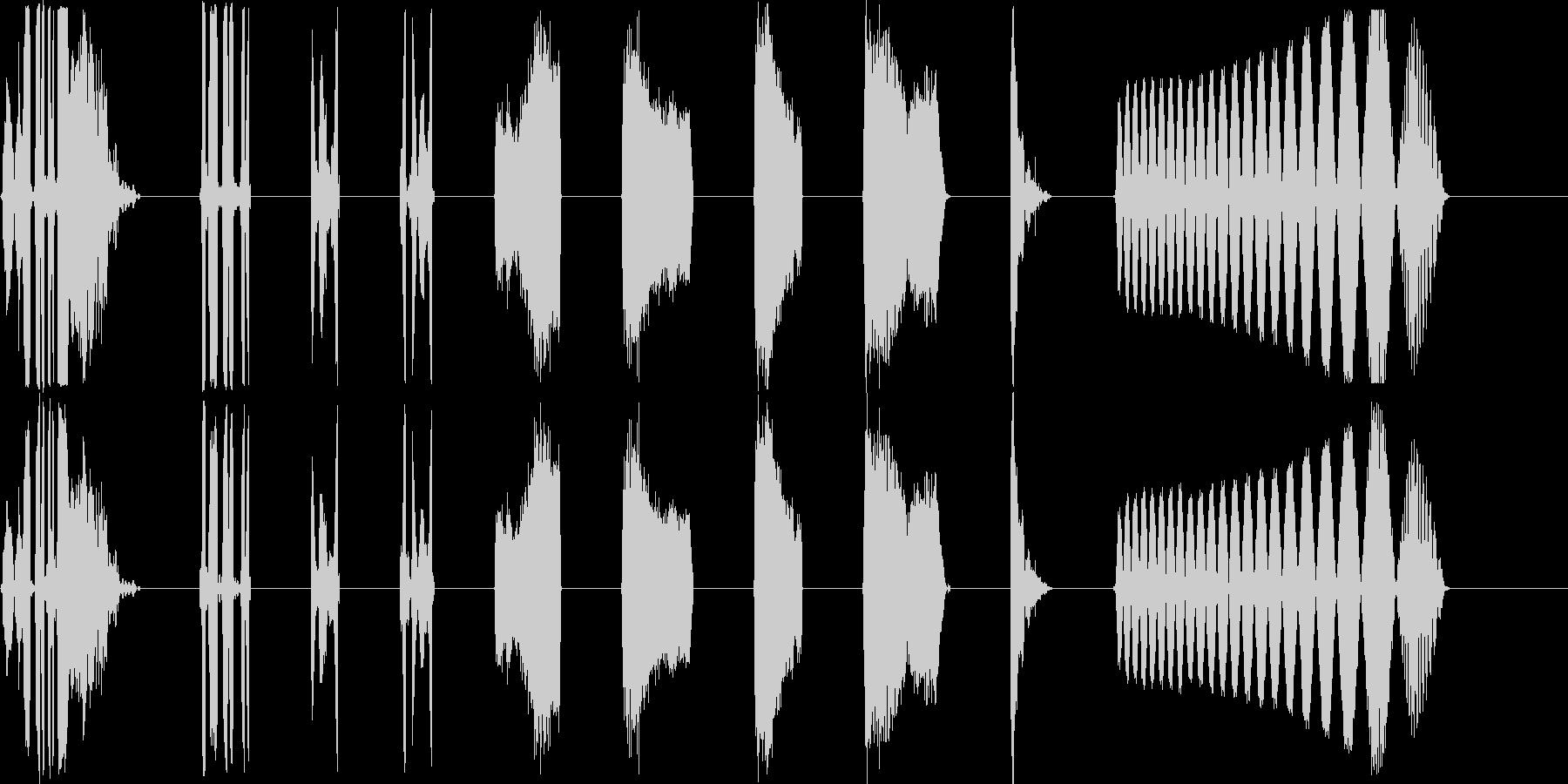 DJコンピューター画面の不具合X10の未再生の波形