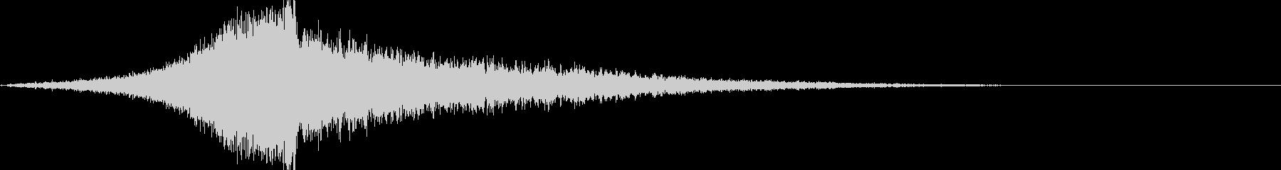 シューバン:ハイブリット音オープニング3の未再生の波形