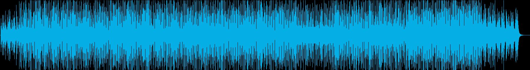 レトロなドラムマシンとピアノソロが漂う曲の再生済みの波形