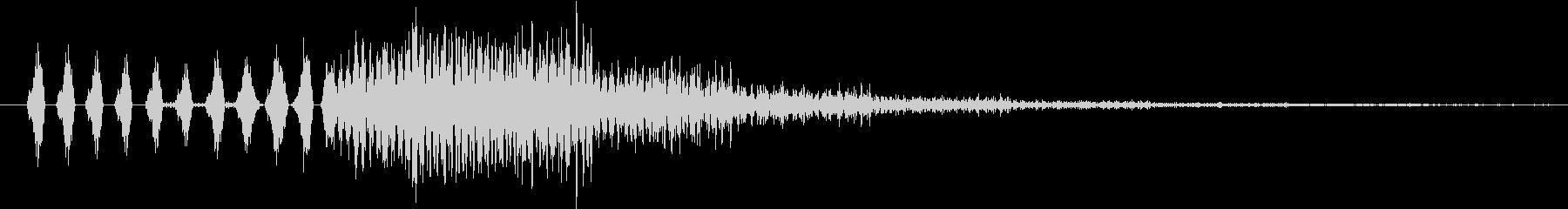 イメージ St音の声03の未再生の波形