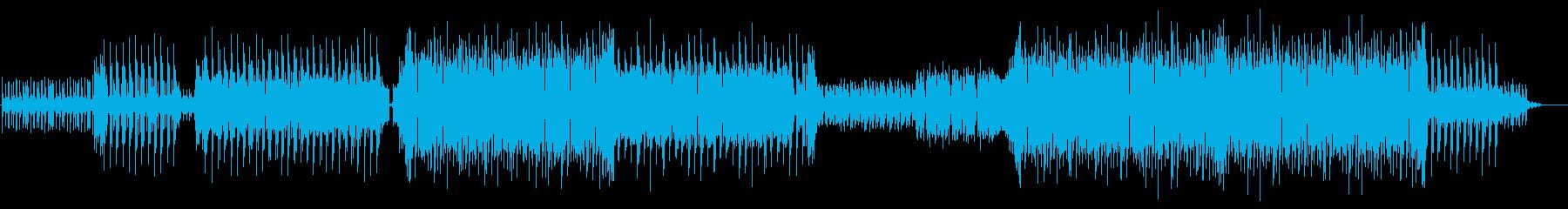 ノリの良い軽快なEDM ちょっと感動的の再生済みの波形