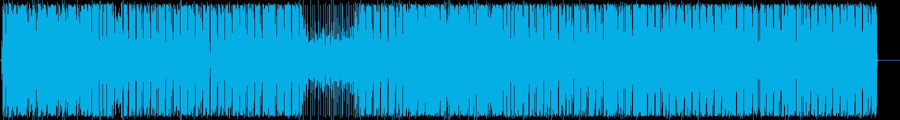 ダンスホールのレゲエは、レゲトンボ...の再生済みの波形