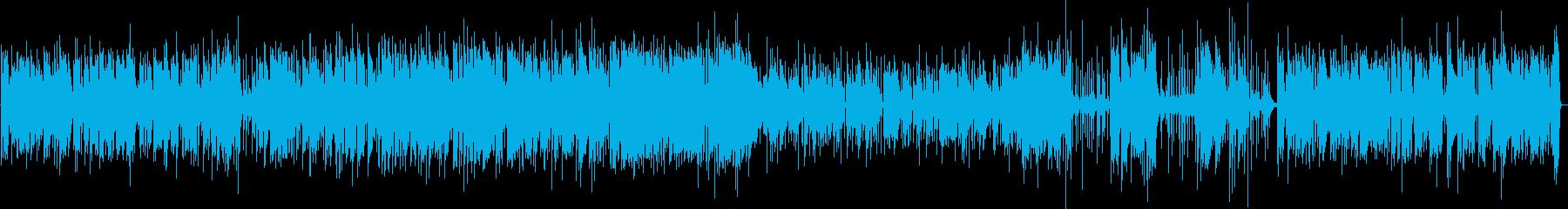 大人な雰囲気のブルースピアノの再生済みの波形