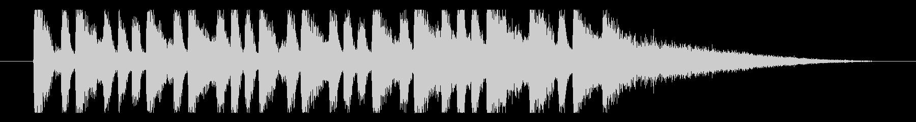 【日曜のラジオ1】の未再生の波形