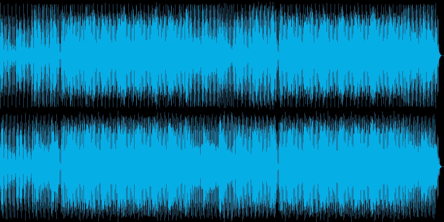 おしゃれシンセテクノ系EDMの再生済みの波形