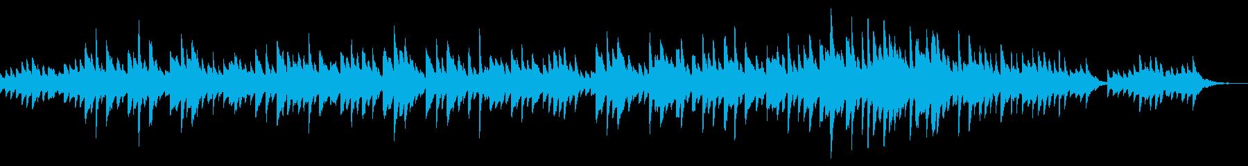悲しく切なく鳴り響くオルゴールの再生済みの波形