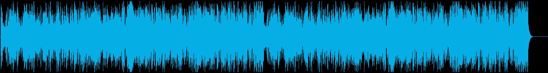 軽やかなフルートのワルツの再生済みの波形