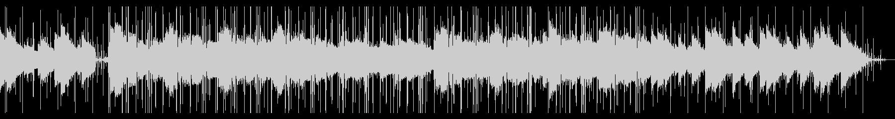 幻想的なエレピのチル・ヒップホップの未再生の波形