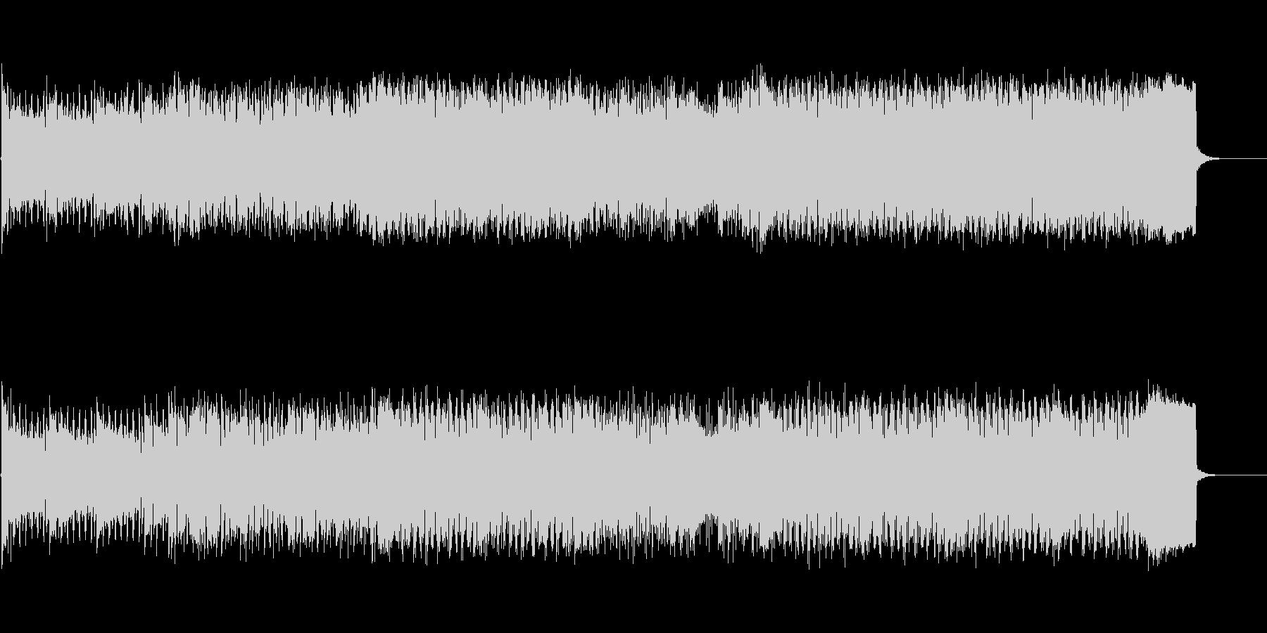 男性ラップと女性Vo洋楽風シティポップの未再生の波形