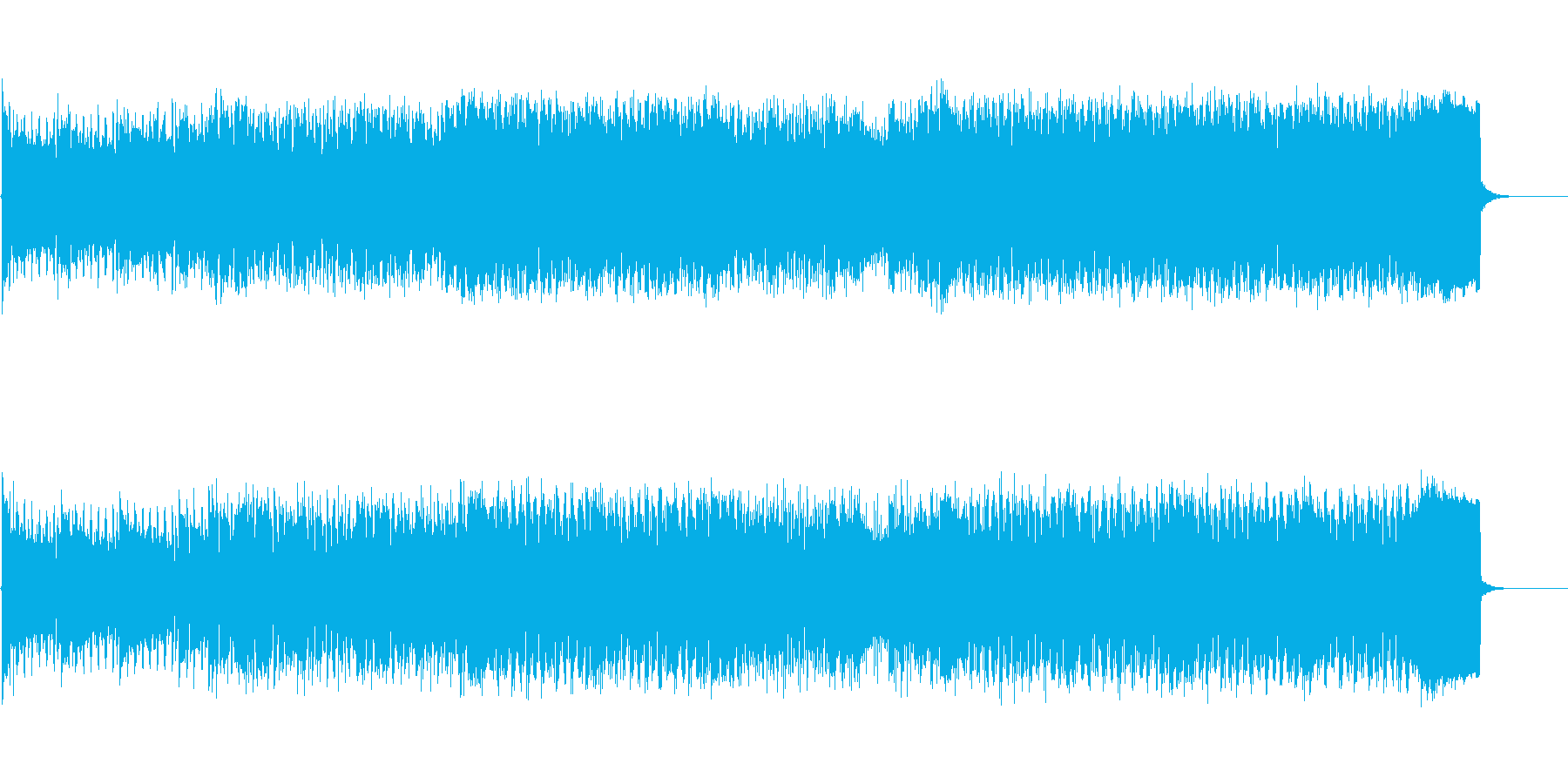 男性ラップと女性Vo洋楽風シティポップの再生済みの波形