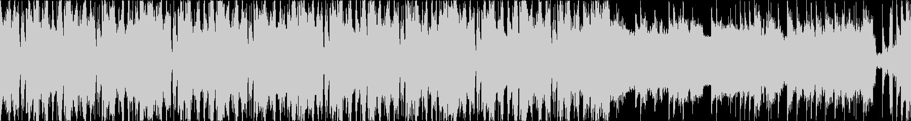 シンプル、お洒落、エレクトロ、Lの未再生の波形