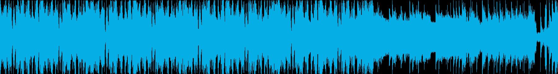 シンプル、お洒落、エレクトロ、Lの再生済みの波形