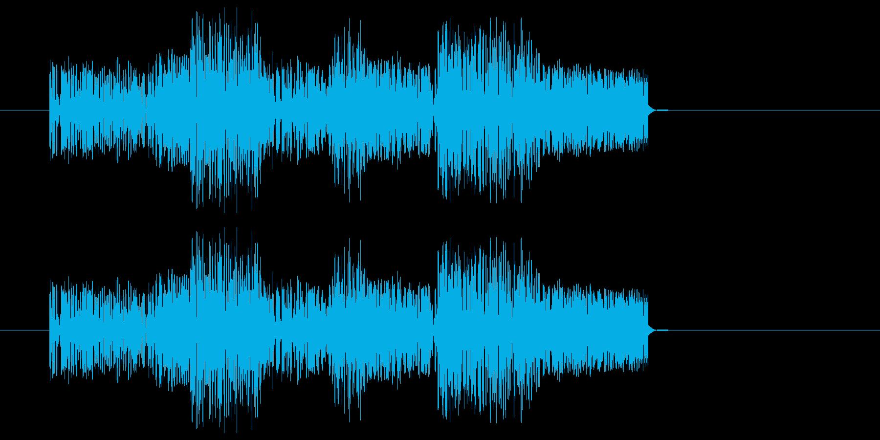 攻撃・命中・ズバババッ・ファミコン風2の再生済みの波形