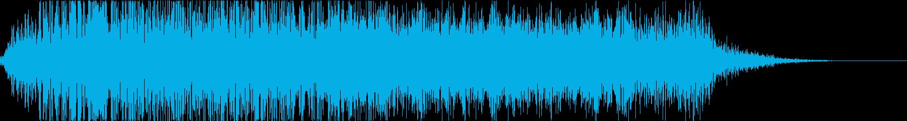 怪物・モンスターの鳴き声・ゲーム・映画hの再生済みの波形