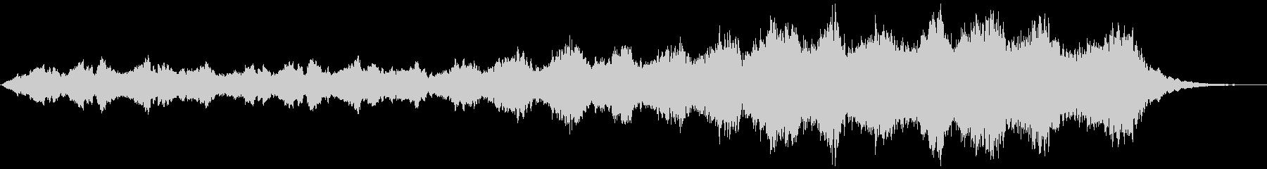 シンセサイザーを使用したアンビエントの未再生の波形