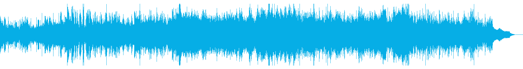 ゆったりしたシネマティックIDMの再生済みの波形