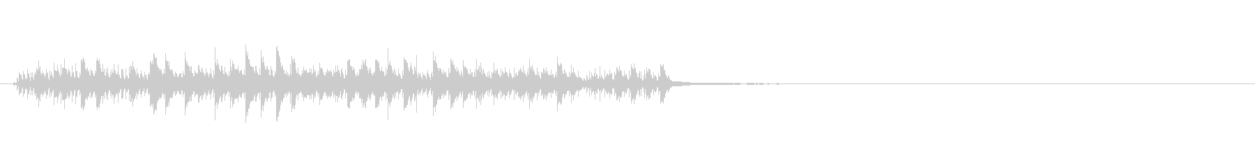 クロックアラームOld 3;ベルと...の未再生の波形