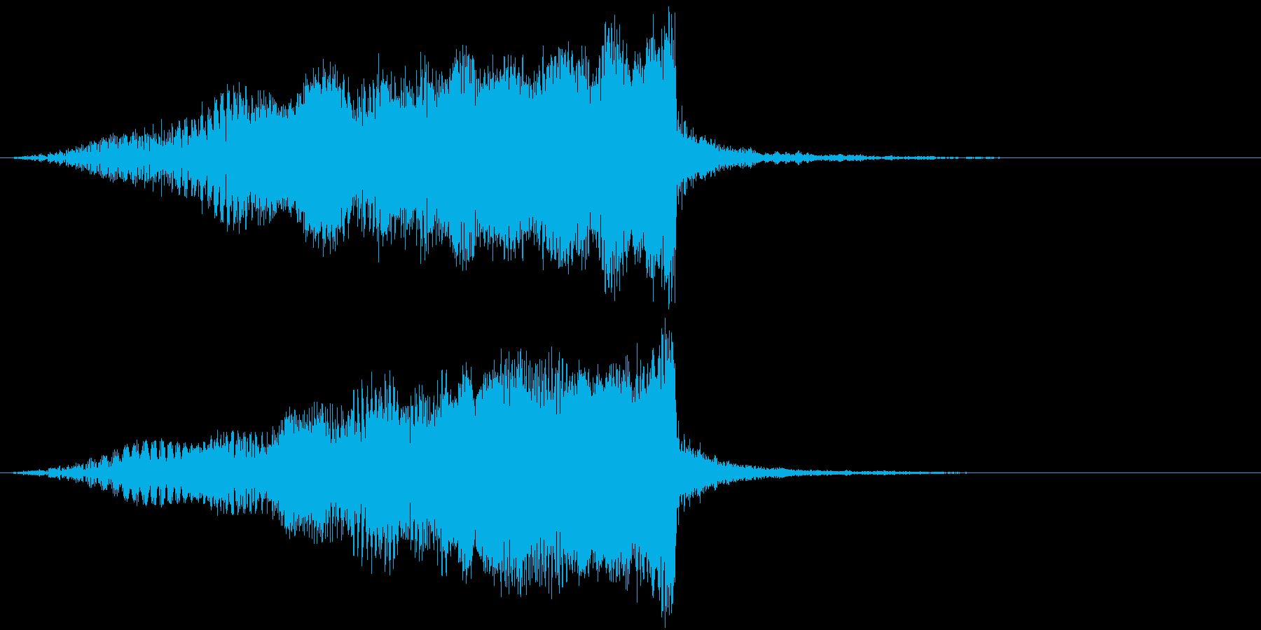 【映画演出】Sci-Fi ライザー_18の再生済みの波形