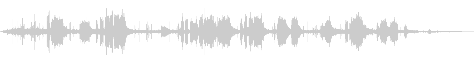 刈払機-操作の未再生の波形