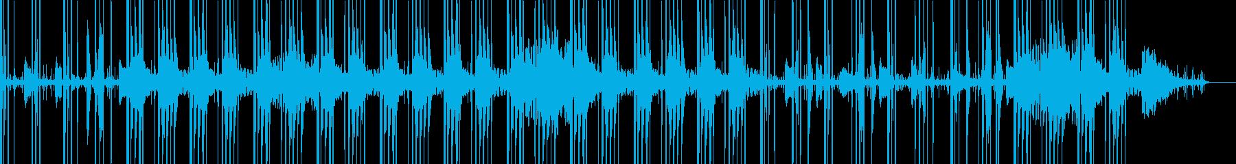 jazzy・チルアウト・ヒップホップの再生済みの波形