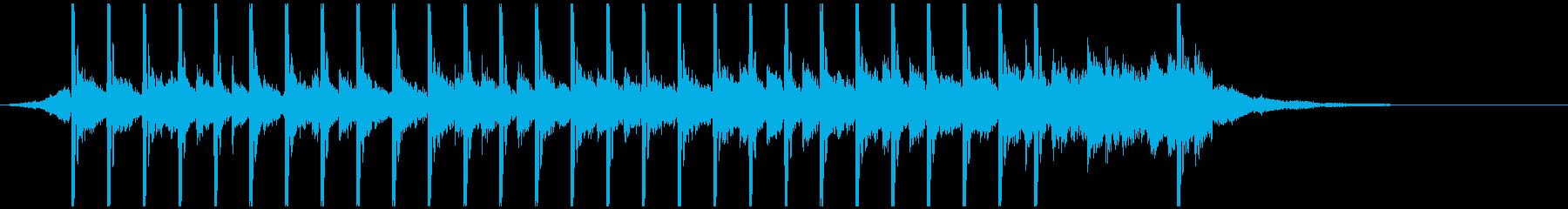イン・ザ・フェスティバル(20秒)の再生済みの波形