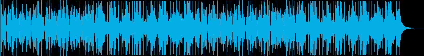 琴のクール/ダークで迫力ある和風EDMの再生済みの波形