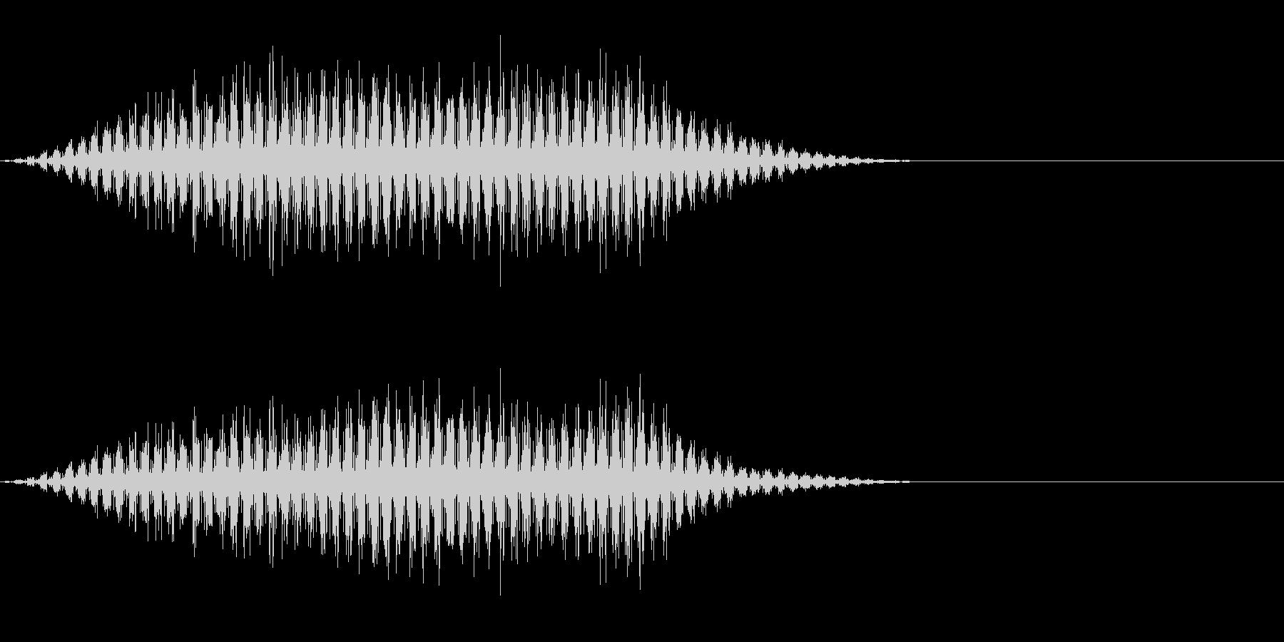 虫の羽音(ブーン/モンスター/飛ぶ)_4の未再生の波形