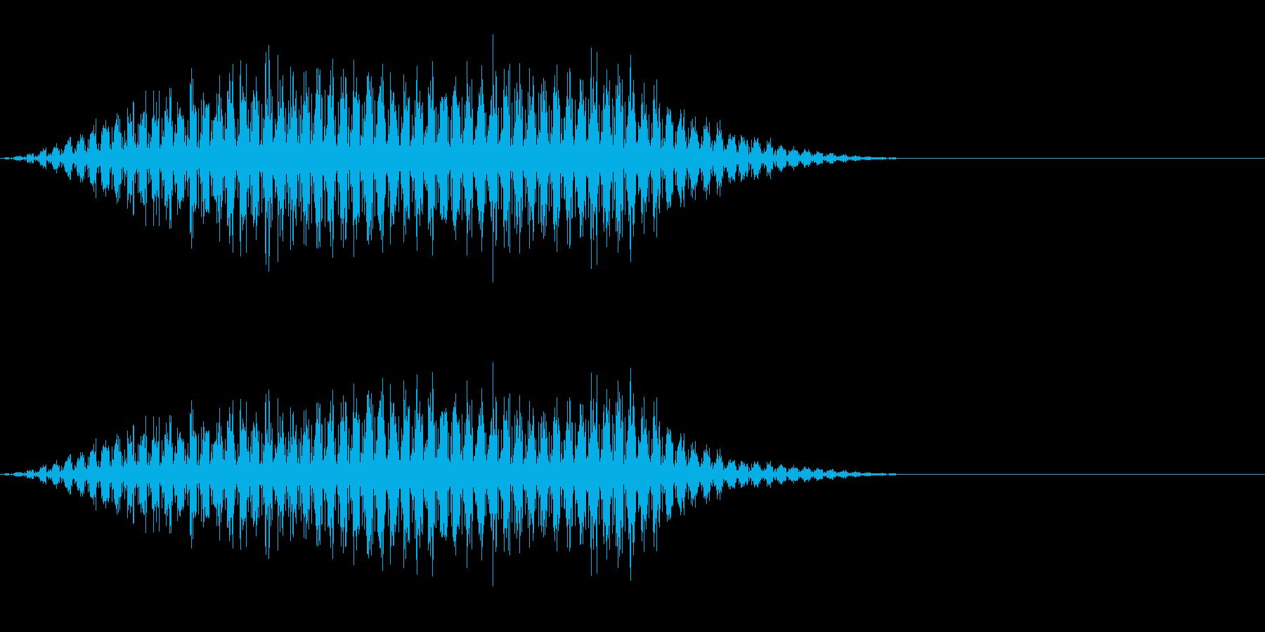 虫の羽音(ブーン/モンスター/飛ぶ)_4の再生済みの波形