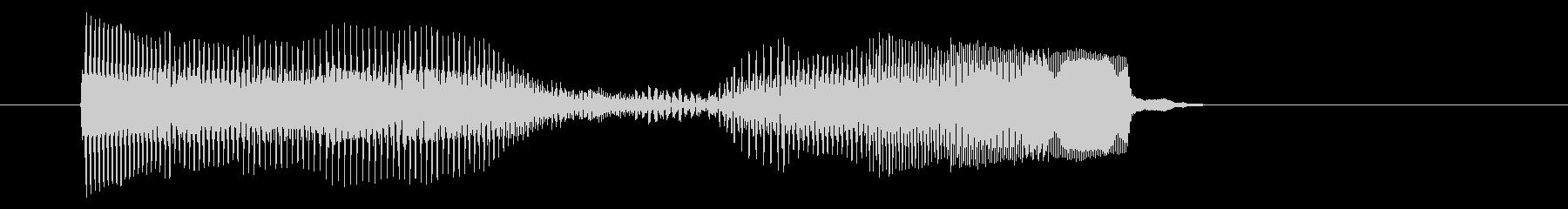 8ビット風システム音-18-1_dryの未再生の波形