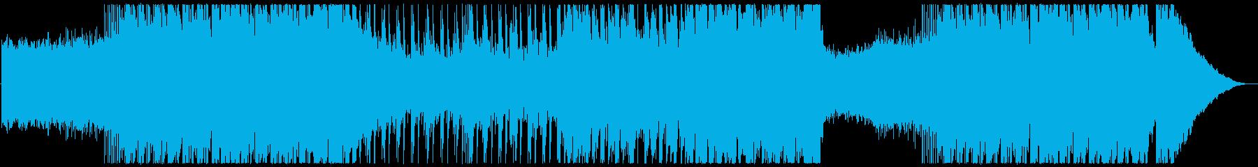 メタル 積極的 焦り 神経質 スポ...の再生済みの波形