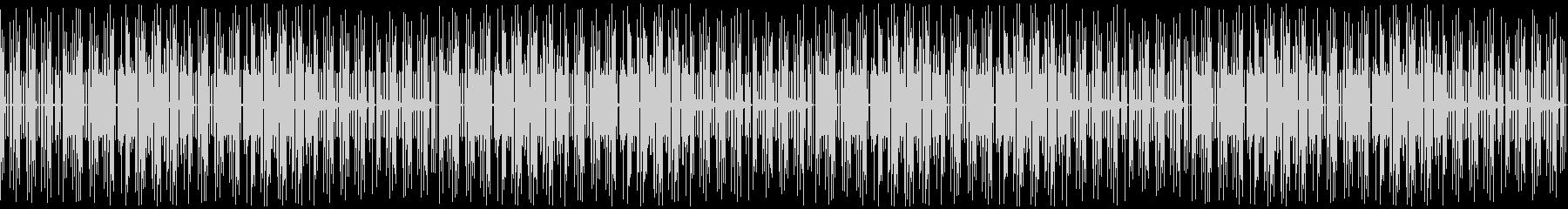 おしゃれなゲーム音楽のファンク:ループの未再生の波形