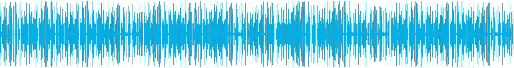 おしゃれなゲーム音楽のファンク:ループの再生済みの波形
