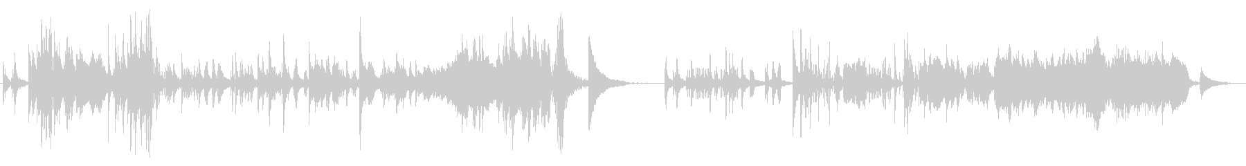 クラシカルでメロディアスなピアノサウンドの未再生の波形