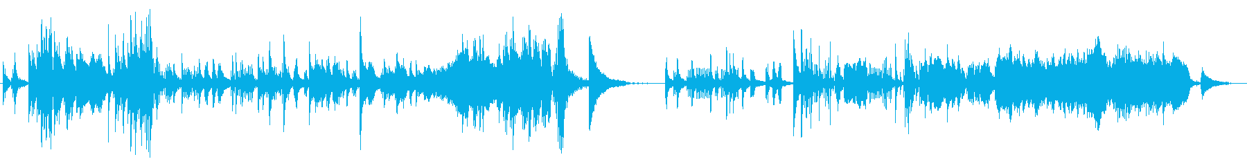 クラシカルでメロディアスなピアノサウンドの再生済みの波形