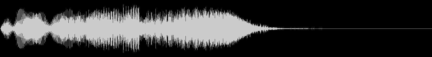 パワースロブスイープの未再生の波形