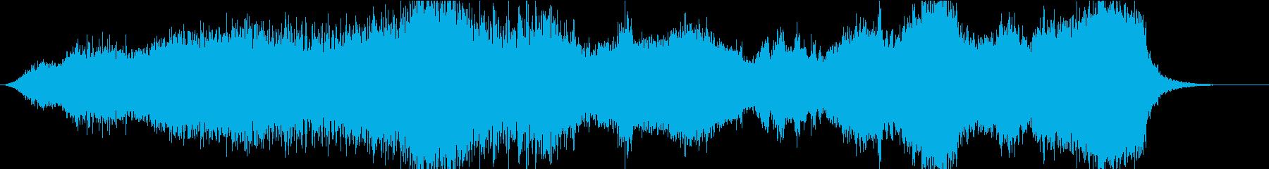 異世界2ホラーの再生済みの波形