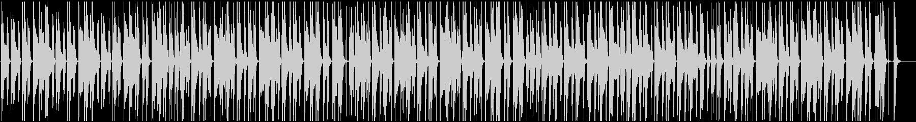 ほのぼの散歩 スキップ アコギ 木琴の未再生の波形