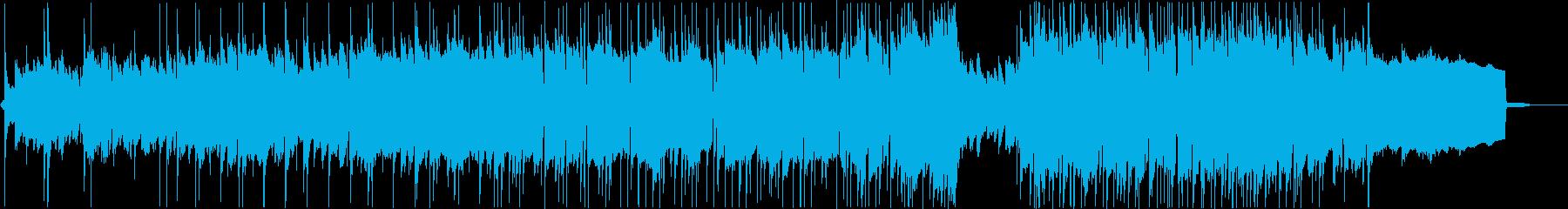 エモーショナルなエンディング曲の再生済みの波形