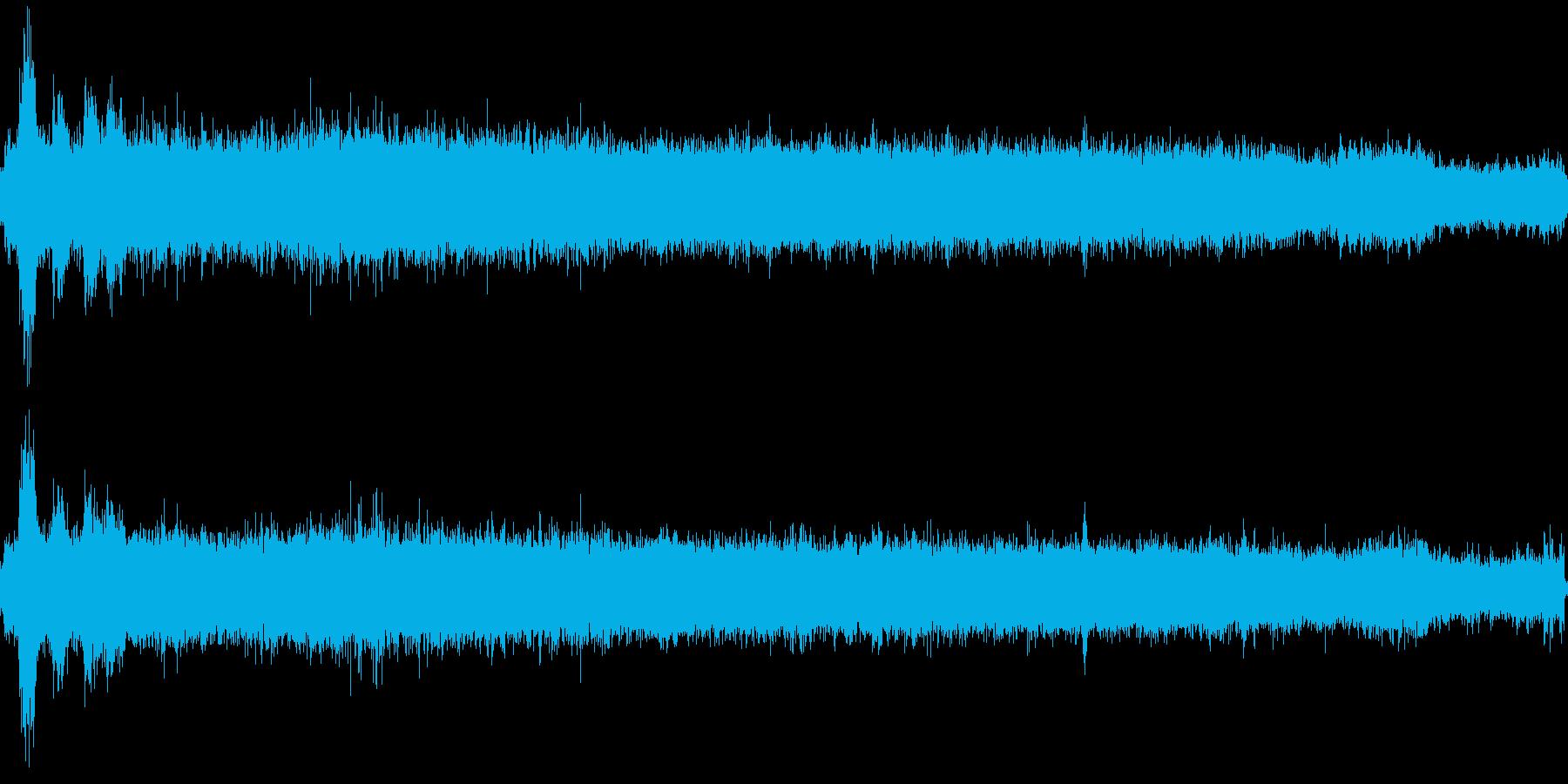 水道の水を出すの再生済みの波形