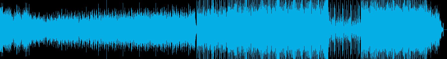 モダンポップ。の再生済みの波形