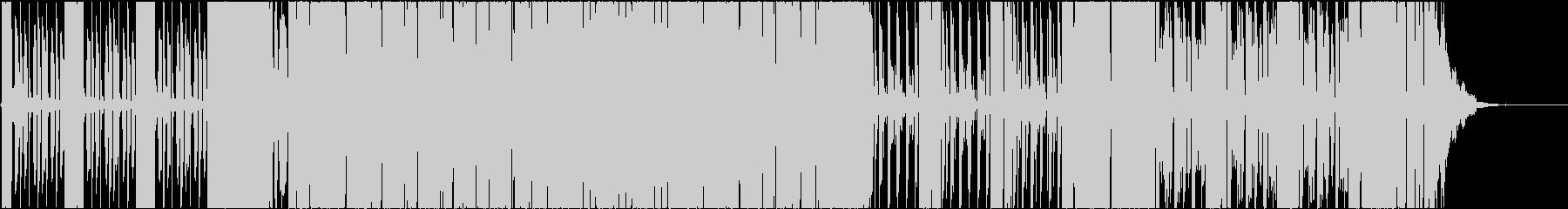 海外CM風ノリノリ明るいEDM:短縮版の未再生の波形