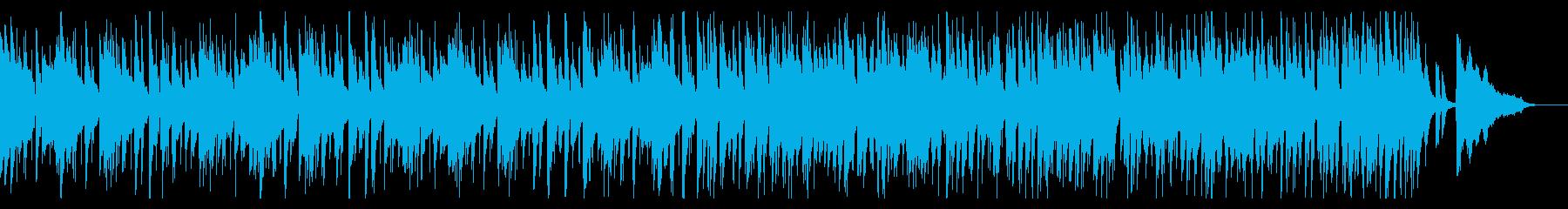 心踊るような優しいJazzPianoの再生済みの波形