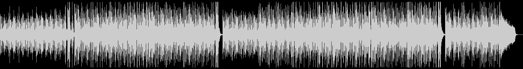 ポップピアノレクリエーション:メロディ無の未再生の波形