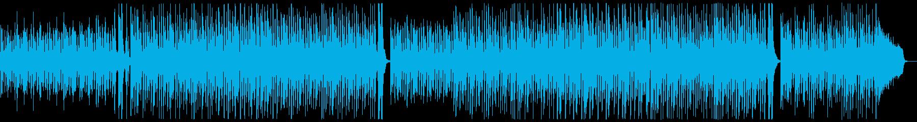 ポップピアノレクリエーション:メロディ無の再生済みの波形