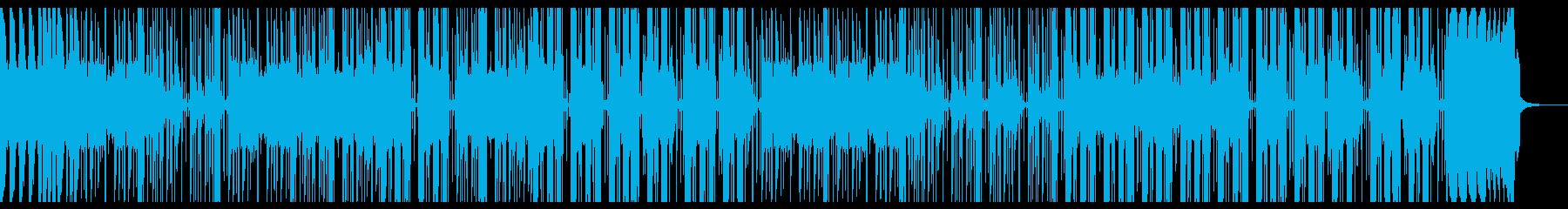 Lo-Fiビート_ファンキー_スイングの再生済みの波形