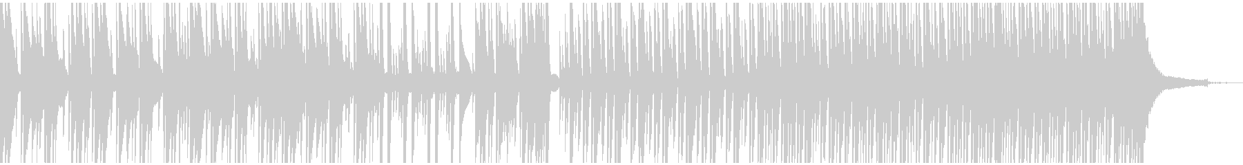 さりげなくハッピーでかわいい3拍子ピアノの未再生の波形