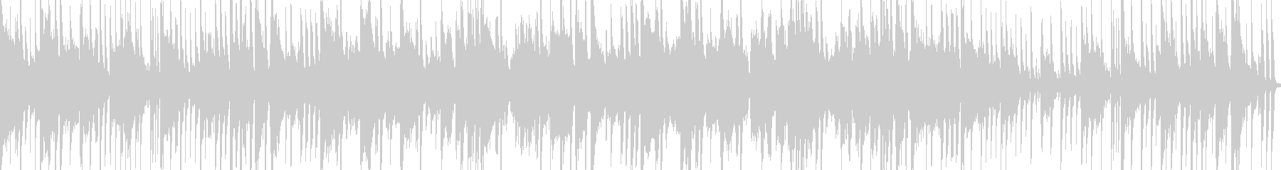 ループ可!コロコロとしたエレクトロポップの未再生の波形