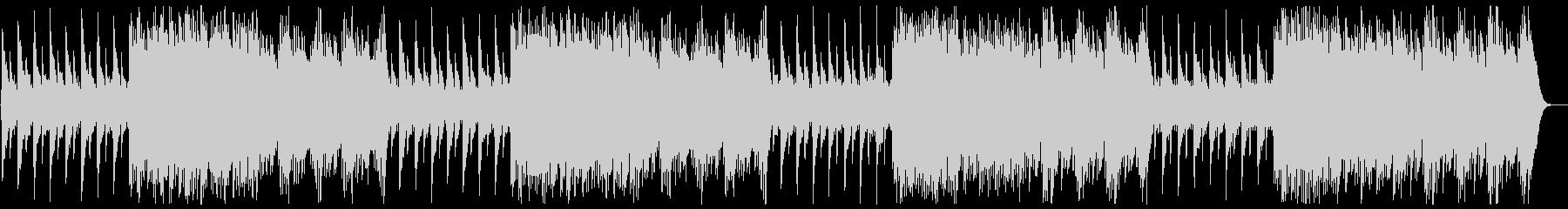 テンポいい可愛いハンドベルの曲の未再生の波形