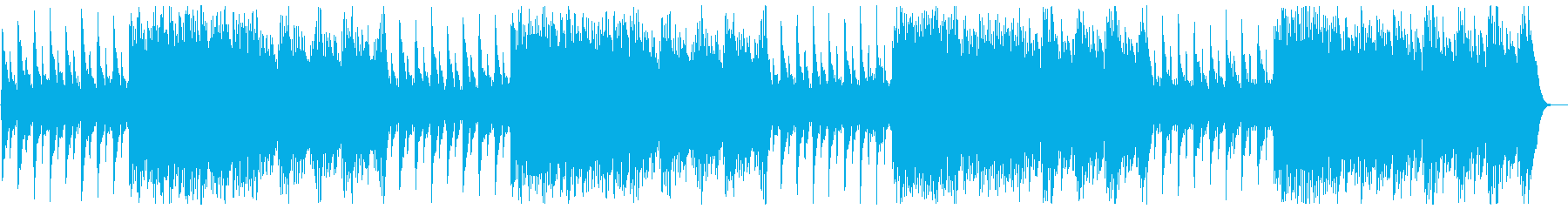 テンポいい可愛いハンドベルの曲の再生済みの波形